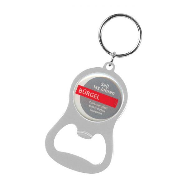 chevron bottle opener key ring key rings products im press promotions. Black Bedroom Furniture Sets. Home Design Ideas