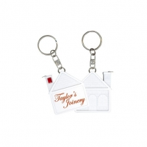 Im-Press Promotions: House Tape Measure Key Ring